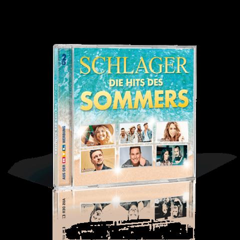 Schlager - Die Hits des Sommers 2019 von Various Artists - 2CD jetzt im Ich find Schlager toll Shop