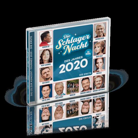 Die Schlagernacht des Jahres 2020 von Die Schlagernacht des Jahres - CD jetzt im Ich find Schlager toll Shop