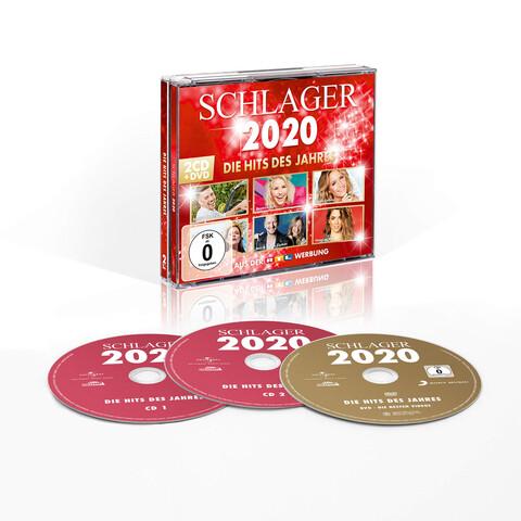 Schlager 2020 - Die Hits des Jahres von Various Artists - 2CD + DVD jetzt im Ich find Schlager toll Shop
