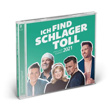 Ich Find Schlager Toll (Frühjahr / Sommer 2021) von Ich find Schlager toll - 2CD jetzt im Ich find Schlager toll Shop