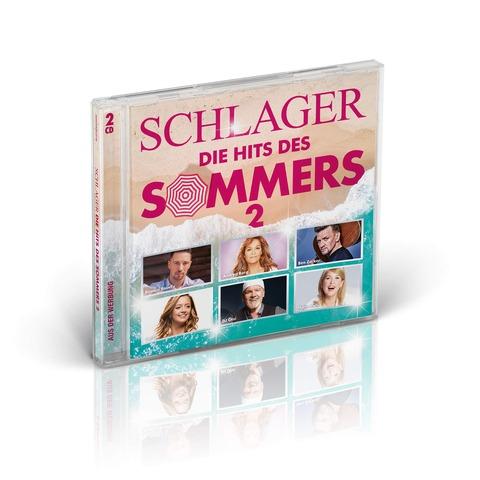 Schlager - Die Hits des Sommers 2 von Various Artists - 2CD jetzt im Ich find Schlager toll Shop