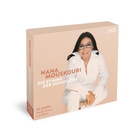 """Die Stimme Der Sehnsucht (Limitierte 3CD + 7"""" Vinyl Boxset) von Nana Mouskouri - Boxset jetzt im Ich find Schlager toll Store"""