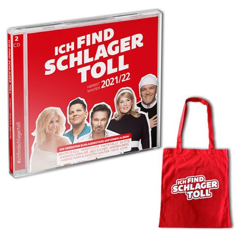 Ich Find Schlager Toll - Herbst/Winter 2021/22 (Exklusive 2CD + Jutetasche) von Ich find Schlager toll - 2CD + Jutetasche jetzt im Ich find Schlager toll Store