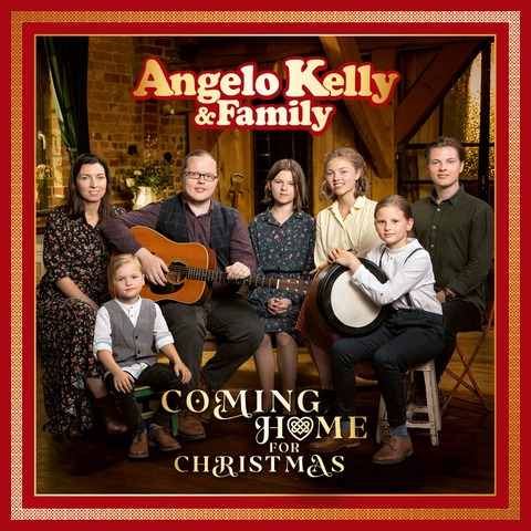 Coming Home For Christmas (2CD) von Angelo Kelly & Family - 2CD jetzt im Ich find Schlager toll Shop