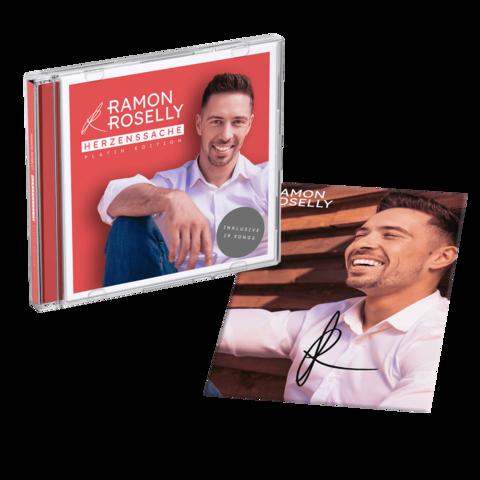 Herzenssache (Platin Edition + exklusive, handsignierte Autogrammkarte) von Ramon Roselly - CD jetzt im Ich find Schlager toll Shop