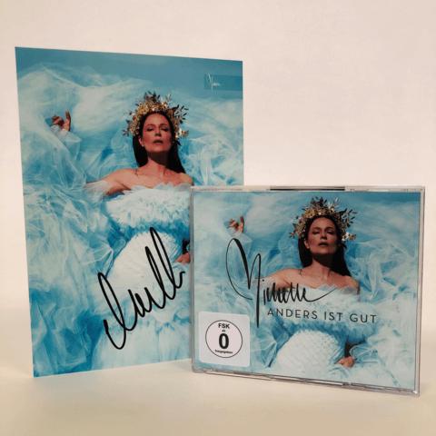 Anders ist gut (Ltd. 3CD+DVD Super Deluxe + handsigniertem Fotoprint) von Michelle - 3CD + DVD jetzt im Ich find Schlager toll Shop