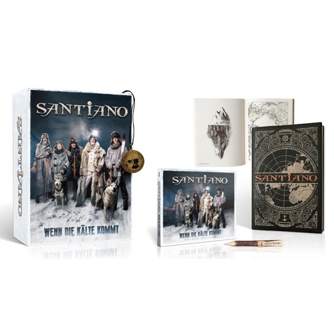 Wenn die Kälte kommt (Ltd. Fanbox) von Santiano - Fanbox jetzt im Ich find Schlager toll Shop