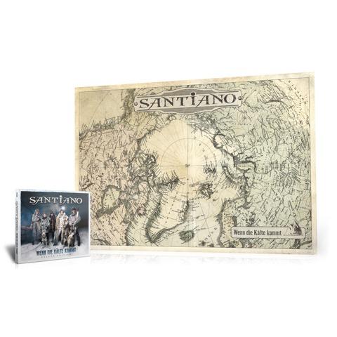 Wenn die Kälte kommt (Ltd. Bundle: Deluxe Edition + exklusives Fan-Poster) von Santiano - CD Bundle jetzt im Ich find Schlager toll Shop