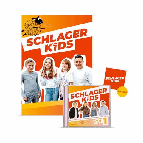 Schlagerkids Vol. 1 von Schlagerkids - CD + Poster jetzt im Ich find Schlager toll Shop