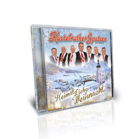 HeimatLiebe Weihnacht von Kastelruther Spatzen - CD jetzt im Ich find Schlager toll Shop