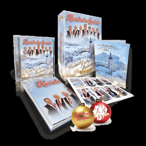 HeimatLiebe Weihnacht (Limitierte Fanbox) von Kastelruther Spatzen - Boxset jetzt im Ich find Schlager toll Store
