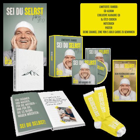 Sei Du Selbst - Party 2.0 (Exklusiv Signierte Limitierte Fanbox) von DJ Ötzi - Boxset jetzt im Ich find Schlager toll Shop
