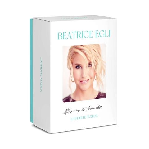 Alles, was du brauchst (Fan Box - signiert) von Beatrice Egli - Box jetzt im Ich find Schlager toll Shop