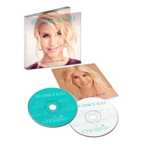 Alles, was du brauchst (2CD Deluxe Edition signiert) von Beatrice Egli - 2CD jetzt im Ich find Schlager toll Store
