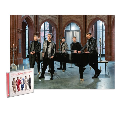 Einmal Boyband Und Zurück (CD + Exklusives Poster) von TEAM 5ÜNF - CD + Poster jetzt im Ich find Schlager toll Store