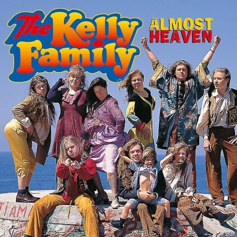 Almost Heaven (1LP) von The Kelly Family - LP jetzt im Ich find Schlager toll Store