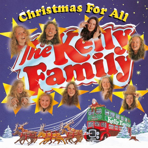 Christmas For All (2LP) von The Kelly Family - 2LP jetzt im Ich find Schlager toll Store