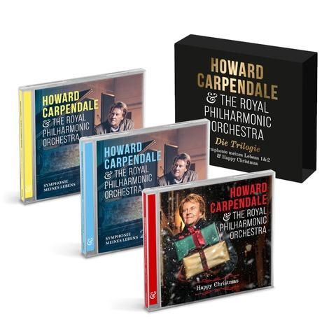 Die Trilogie (Symphonie Meines Lebens 1+2 & Happy Christmas) von Howard Carpendale - 3CD jetzt im Ich find Schlager toll Store