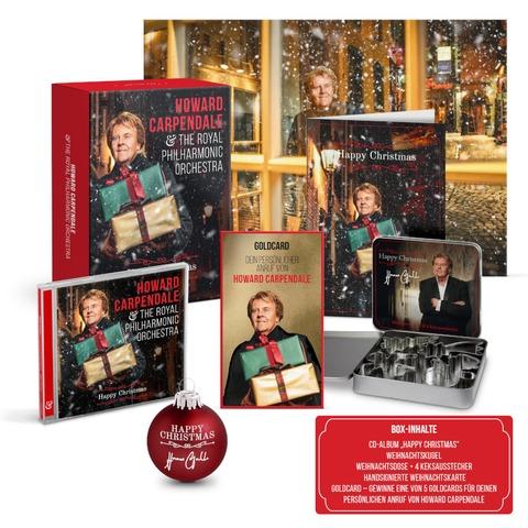 Happy Christmas von Howard Carpendale - Limitierte CD Fanbox + Exklusives Poster jetzt im Ich find Schlager toll Store