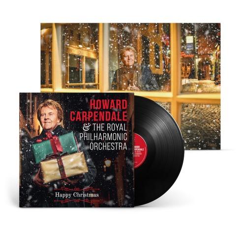 Happy Christmas von Howard Carpendale - LP + Exklusives Poster jetzt im Ich find Schlager toll Store