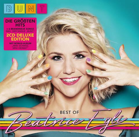 BUNT - Best of (2CD Deluxe Edition: 6 neue Songs, die größten Hits + Bonus CD Album) von Beatrice Egli - 2CD jetzt im Ich find Schlager toll Shop