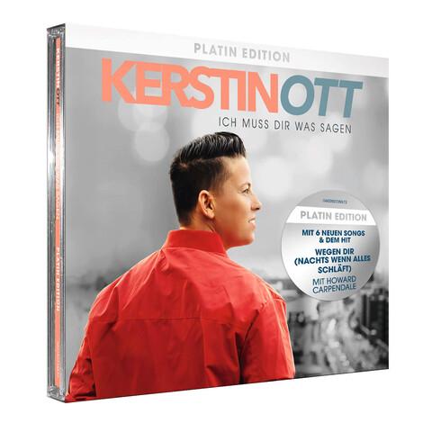 Ich muss Dir was sagen (Platin Edition) von Kerstin Ott - CD jetzt im Ich find Schlager toll Shop
