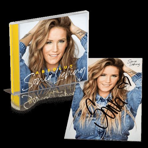 Absolut (CD + Autogrammkarte) von Sonia Liebing - CD Bundle jetzt im Ich find Schlager toll Shop