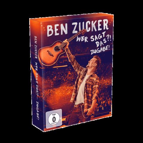 Wer Sagt Das?!Zugabe! (Deluxe Edition) von Ben Zucker - Boxset jetzt im Ich find Schlager toll Shop