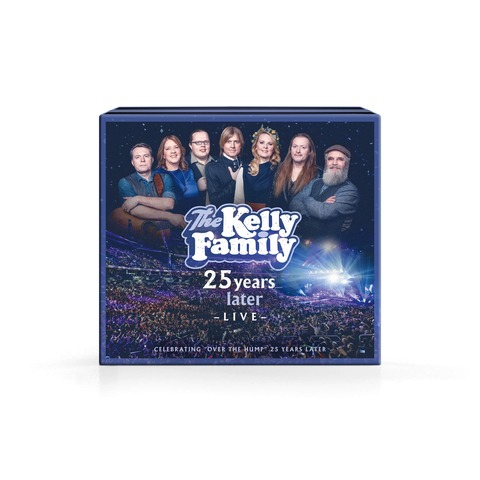 25 Years Later - Live (Deluxe Edition: 2CD+2DVD) von The Kelly Family - DVD + 2CD jetzt im Ich find Schlager toll Shop