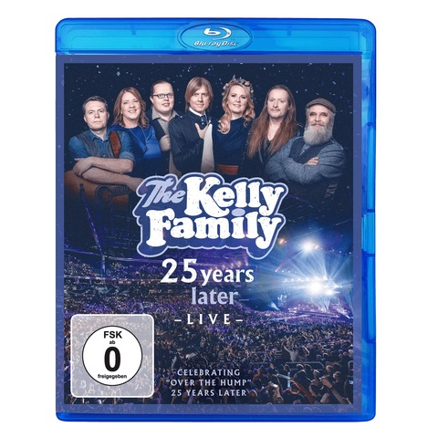 25 Years Later - Live von The Kelly Family - BluRay jetzt im Ich find Schlager toll Shop