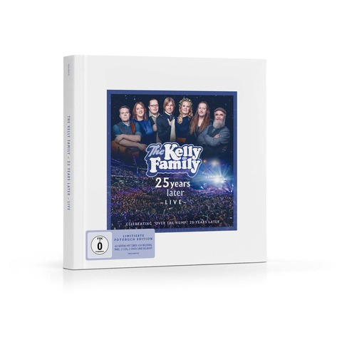25 Years Later - Live (Limitierte Fotobuch Edition) von The Kelly Family - Box jetzt im Ich find Schlager toll Shop