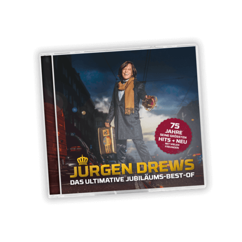 Das Ultimative Jubiläums-Best-Of von Jürgen Drews - CD jetzt im Ich find Schlager toll Shop
