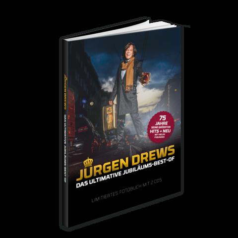 Die Ultimative Jubiläums-Best-Of (Ltd. Fotobuch Edition) von Jürgen Drews - Boxset jetzt im Ich find Schlager toll Shop