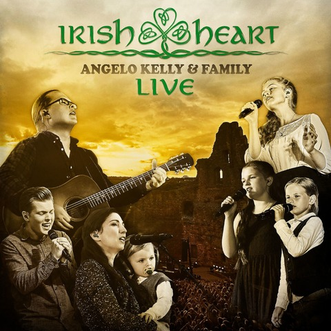 Irish Heart - Live von Angelo Kelly & Family - CD + DVD jetzt im Ich find Schlager toll Store