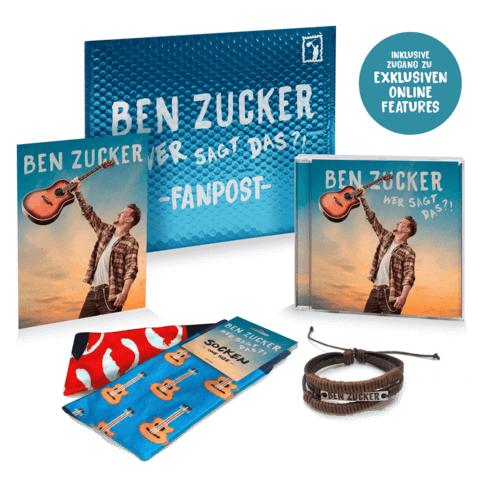 Wer sagt das?! (Ltd. Fanpost Edition) von Ben Zucker - CD jetzt im Ich find Schlager toll Shop