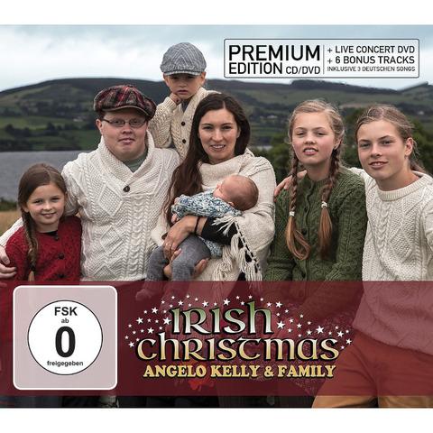 Irish Christmas von Angelo Kelly & Family - Premium Edition CD + DVD jetzt im Ich find Schlager toll Store