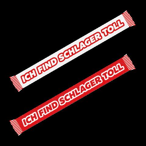 Logo von Ich find Schlager toll - Schal jetzt im Ich find Schlager toll Shop