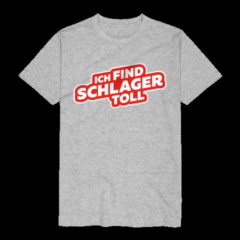 Logo von Ich find Schlager toll - T-Shirt jetzt im Ich find Schlager toll Shop