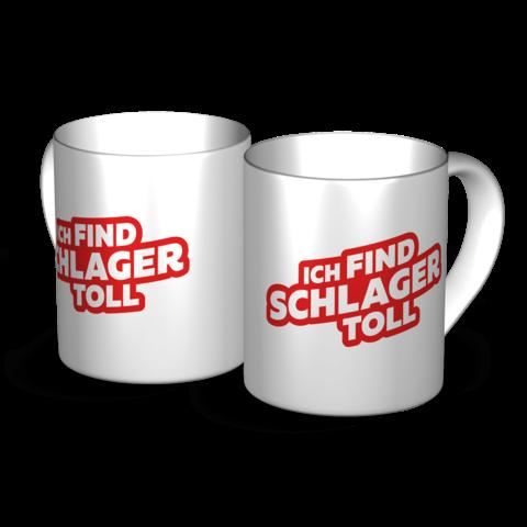 Logo von Ich find Schlager toll - Tasse jetzt im Ich find Schlager toll Shop